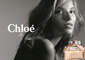 THE FINNISH MODEL SUVI KOPONEN IS THE NEW FACE OF THE CHLOÉ FRAGRANCE